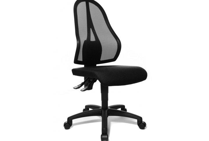 Bureaustoel zwart colifac