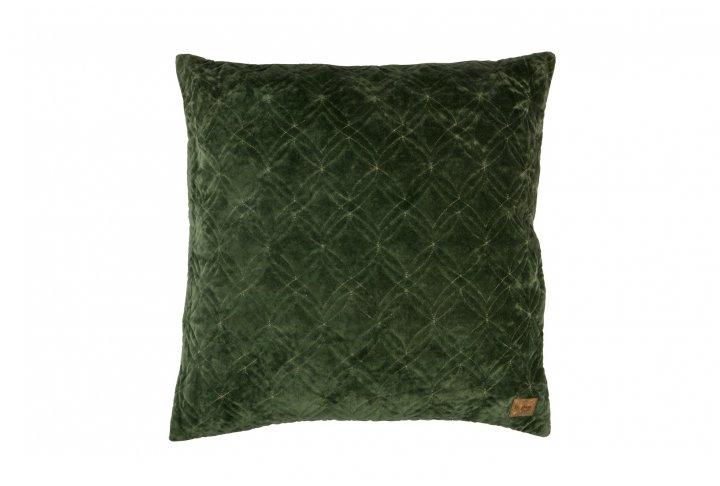 Kussen fluweel groen 50x50
