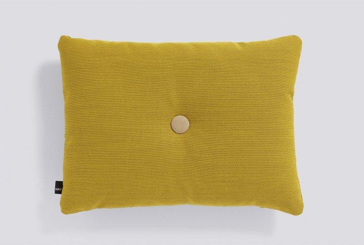 Dot kussen hay - 1 dot, golden yellow