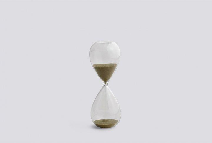 Time zandlope hay - m gold