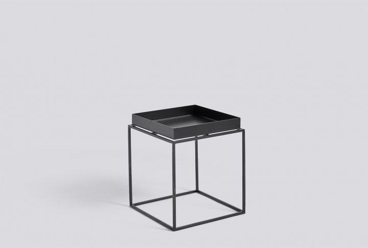Bijzet-of salontafel hay - tray black