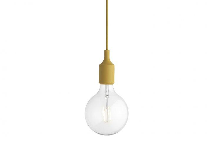 Muuto E27 Hanglamp : E hanglamp mustard colifac
