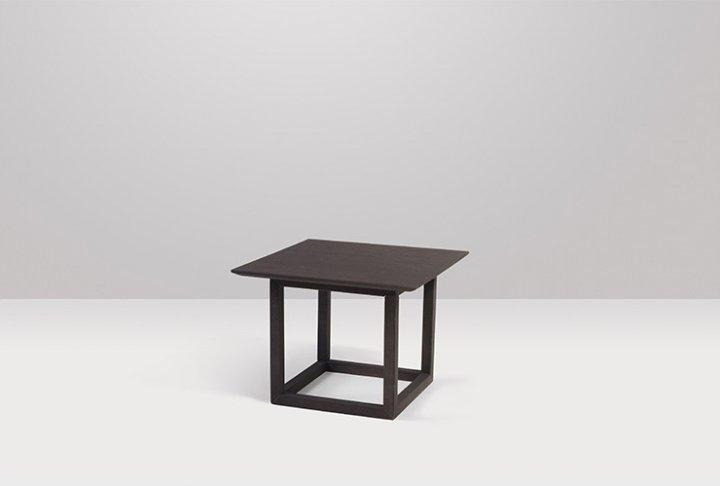 Bijzettafel vierkant 50 x 50 cm