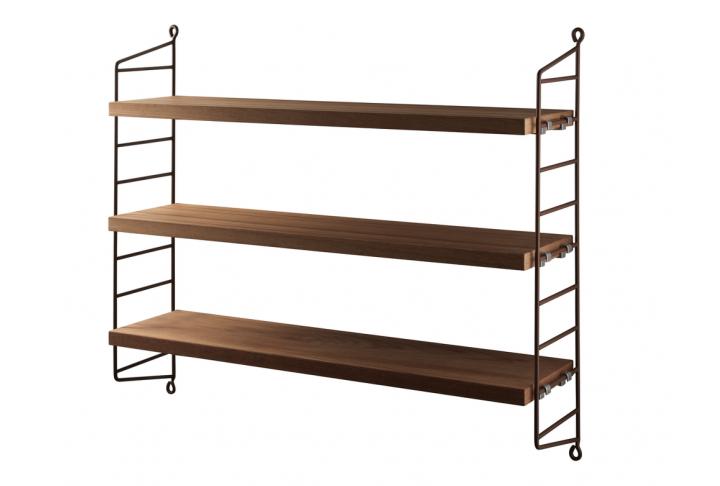 Pocket (2 wall panels + 3 shelves)