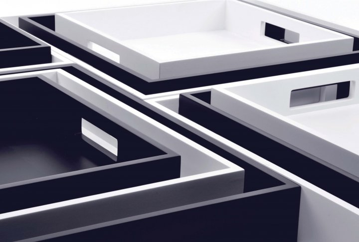Zen tray xlboom extra long white