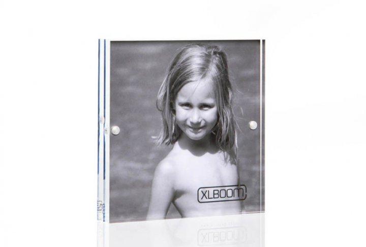 Acrylic magnetic frame xlboom 13x13 clear