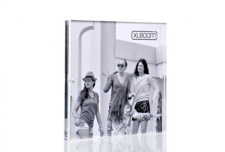 Acrylic magnetic frame xlboom 18x18 clear