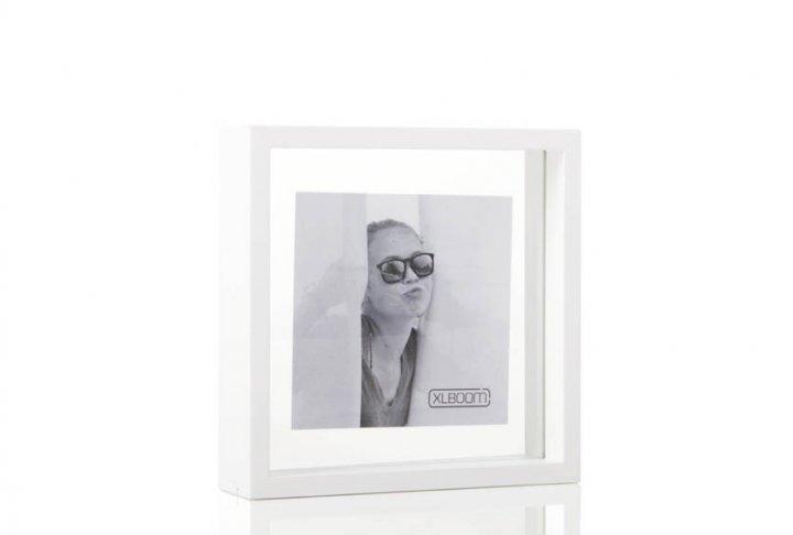 Square floating box xlboom white 20x20