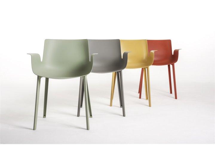Eettafels en stoelen Piuma