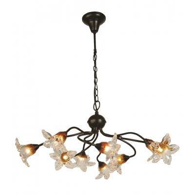 Megan hanglamp zwart 9x g9 led 2,5w incl