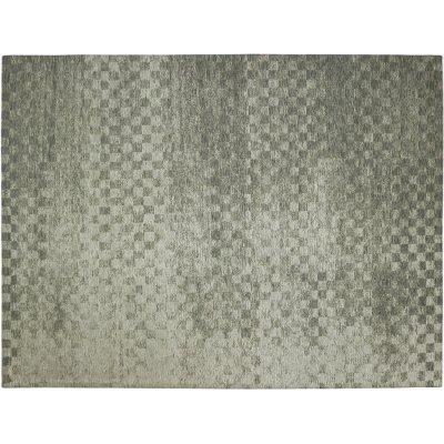 Karpet retro check zilver 170x230cm