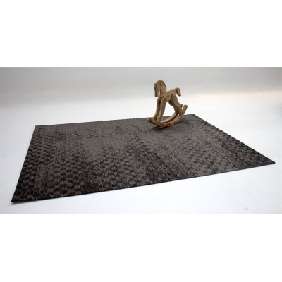 Karpet retro check antraciet 170x230cm