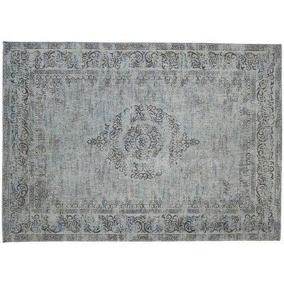 Karpet vintage sublime blauwgrijs 160x230cm