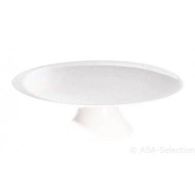 Witte taartschaal 22,5cm