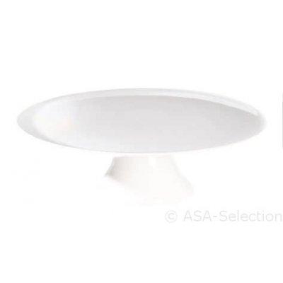 Witte taartschaal 35cm
