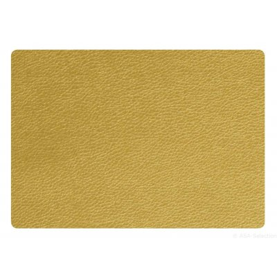 Placemat in goudkleur 46x33