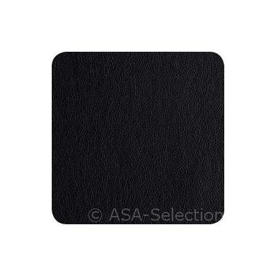 Set van 4 zwarte onderzetters 10x10