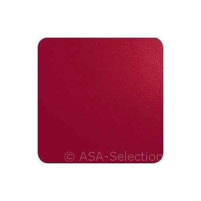 Set van 4 rode onderzetters 10x10