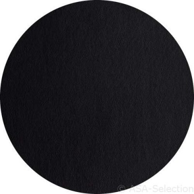 Zwarte ronde placemat d=38cm