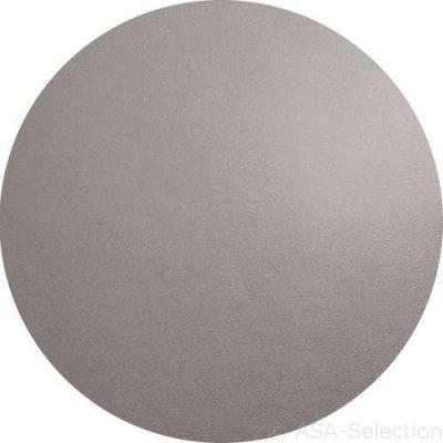 Grijze ronde placemat d=38cm