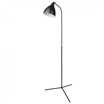 Floorlamp metal black