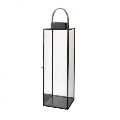 Lantern iron leather