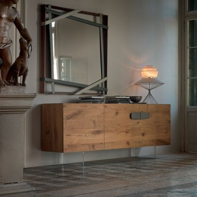 Sideboard nebraska wood cattelan italia