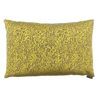 Kussen gevuld geel 40x60