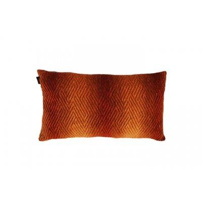 Kussen gevuld oranje roest 30x50