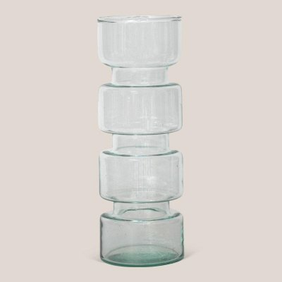 Paloma vase recycled glass