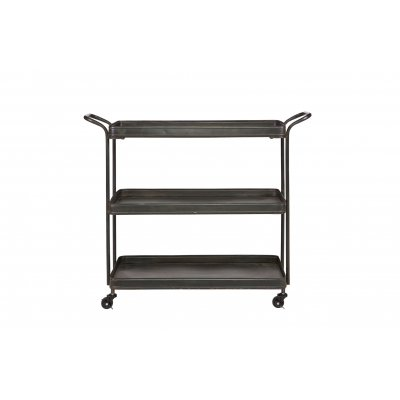 Tea trolley zwart