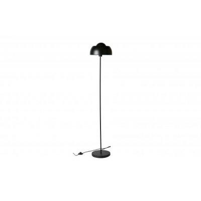 Yvet vloerlamp metal black
