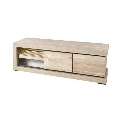 Tv-meubel (2d+open) + ledverlichting
