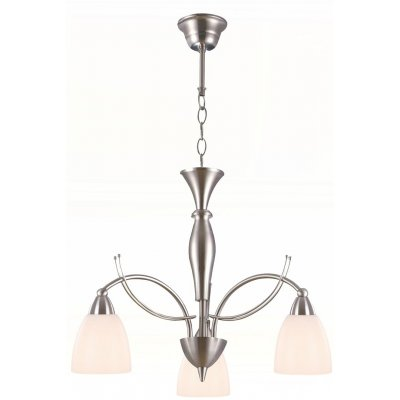 Malin hanglamp  brushed steel 3xe14 40wexcl