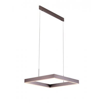 Pure hanglamp vierkant brons led