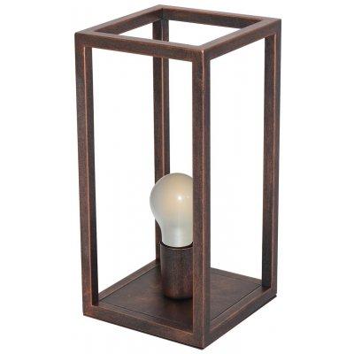 Kago tafellamp aged copper