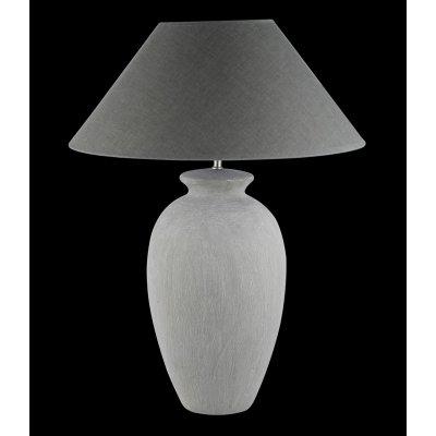 Tafellamp ker grijs
