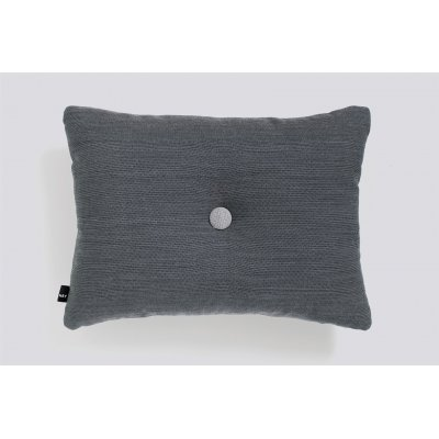 Dot kussen (1 dot - charcoal) 45x60cm