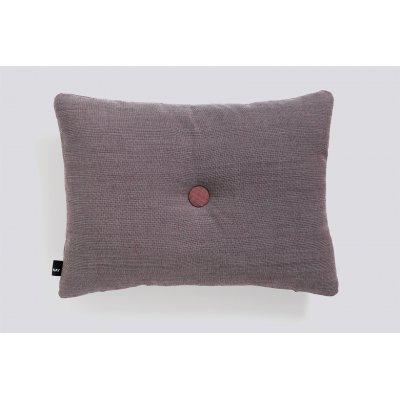 Dot kussen (1 dot - burgundy) 45x60cm