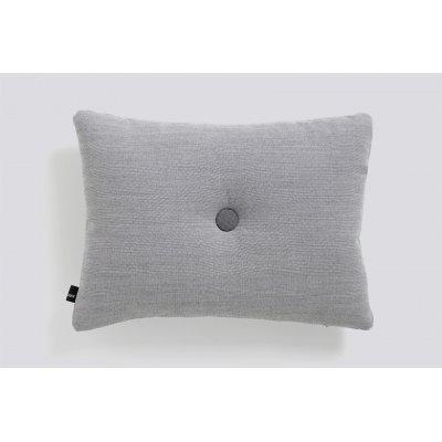 Dot kussen (1 dot - light grey) 45x60cm
