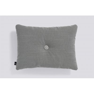 Dot kussen (1 dot - dark grey) 45x60cm