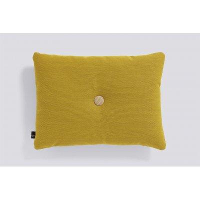Dot kussen (1 dot - golden yellow) 45x60cm