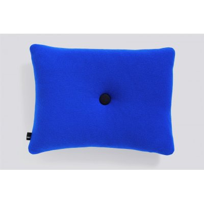 Dot kussen hay - 1 dot, blue