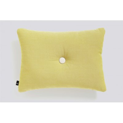 Dot kussen (1 dot - mustard) 45x60cm