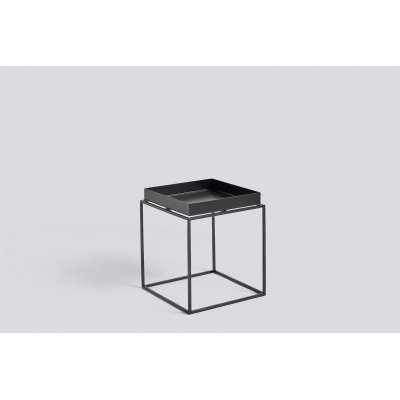 Bijzet-of salontafel hay - tray black