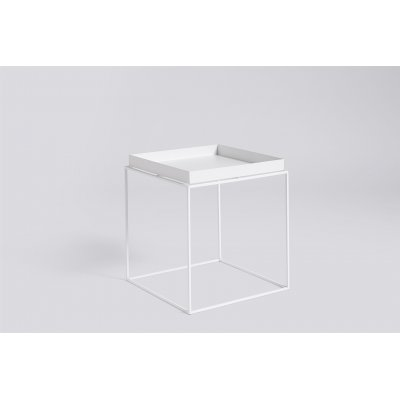 Bijzet-of salontafel hay - tray white
