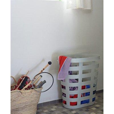 Laundry basket hay - l light grey