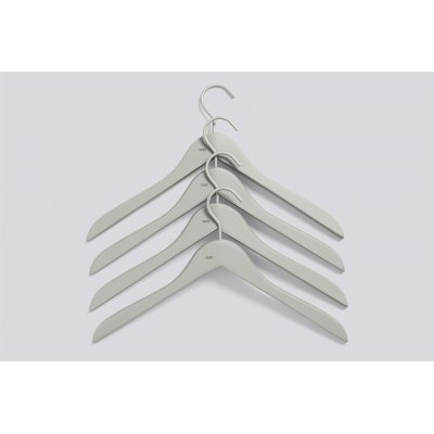 Kleerhanger hay - soft coat grey (set van 4)