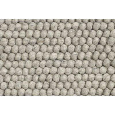 Peas tapijt soft grey (200x300)