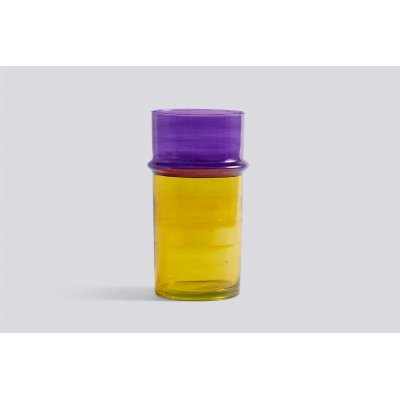 Moroccan vase l yellow